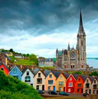 Campamento en Irlanda