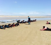 WELC Summer School_Surfing in Tramore