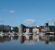 Waterford city by day