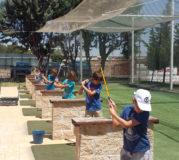 Niños golf